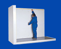 Сборка холодильной камеры