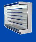 Горки (пристенные холодильные витрины)