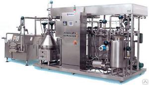 Мини-завод КМЗ-0106 переработка молока