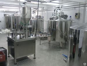 Комплект оборудования КМЦ-0107 приемка и первичная обработки молока