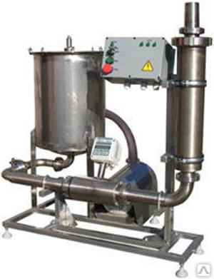 Комплект оборудования КМЦ-0108 приемка и первичная обработка молока