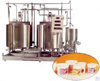 Комплект оборудования КМЦ-0112 Производство йогуртов до 2000 л/с