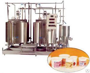 Комплект оборудования КМЦ-0113 Производство йогуртов