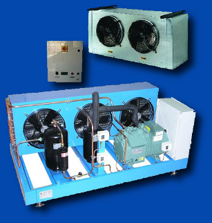 Холодильные машины на базе компрессорно-конденсаторных блоков серии UA