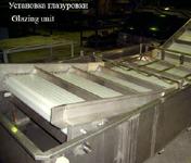 Оборудование для обработки рыбы установки глазуровки