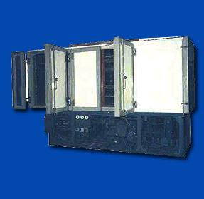Аппараты скороморозильные воздушные с автономной холодильной установкой типа АМВ